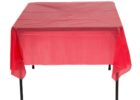 outside table covers red furniture