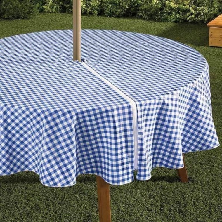Patio Table Cover With Umbrella Hole Table Covers Depot