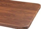 pattern wood fitted elasticized table cover rectangle (standard)