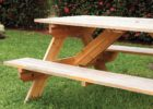 picnic table covers and pads for wooden table