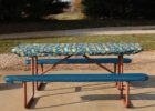 picnic table covers and pads ideas