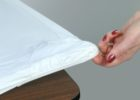 plastic table covers with elastic edges