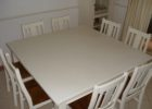 plastic white fitted picnic table covers