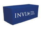 printed tradeshow table covers with logo