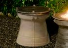 propane tank cover table outdoor