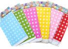 rainbow polka dot table covers plastic