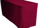 red dj table cover