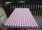 red fitted plastic table covers outdoor