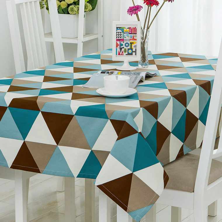 retro rectangular elastic picnic table covers