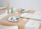 roll of brown paper table cover