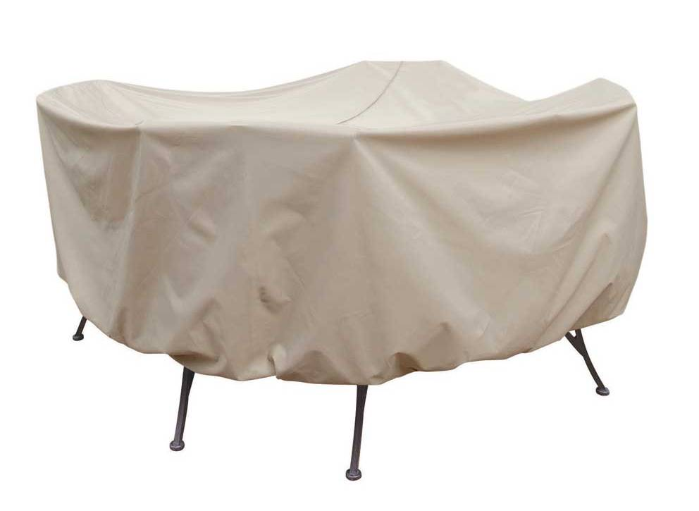 round 48 inch dining table patio table cover with umbrella hole