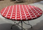 round and fitted elasticized table cover rectangle (standard)