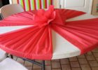 round cheap table covers for party