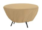 round dining table patio table cover with umbrella hole