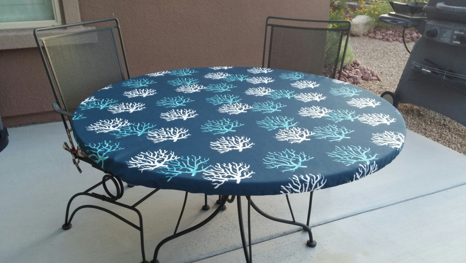 Round Fitted Vinyl Table Covers For Patio Table Covers Depot