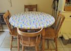 round plastic fitted picnic table covers