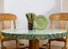 small round fitted and elasticized table cover rectangle ideas