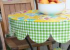 small round fitted vinyl table covers