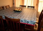 square fitted vinyl table covers for dining table