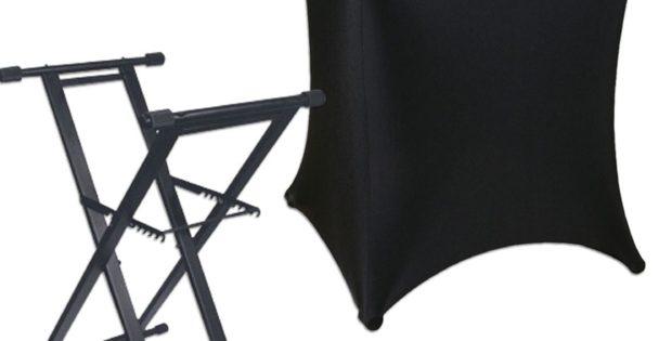 DJ Table Cover Skirt