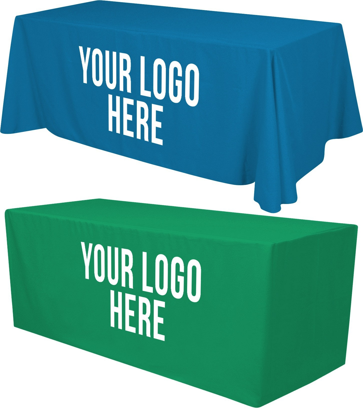 table cover with logo company