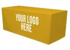 table cover with logo tradeshow