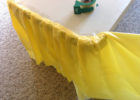 table covers for party with skirt