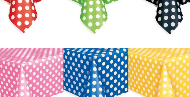 Polka Dot Table Covers
