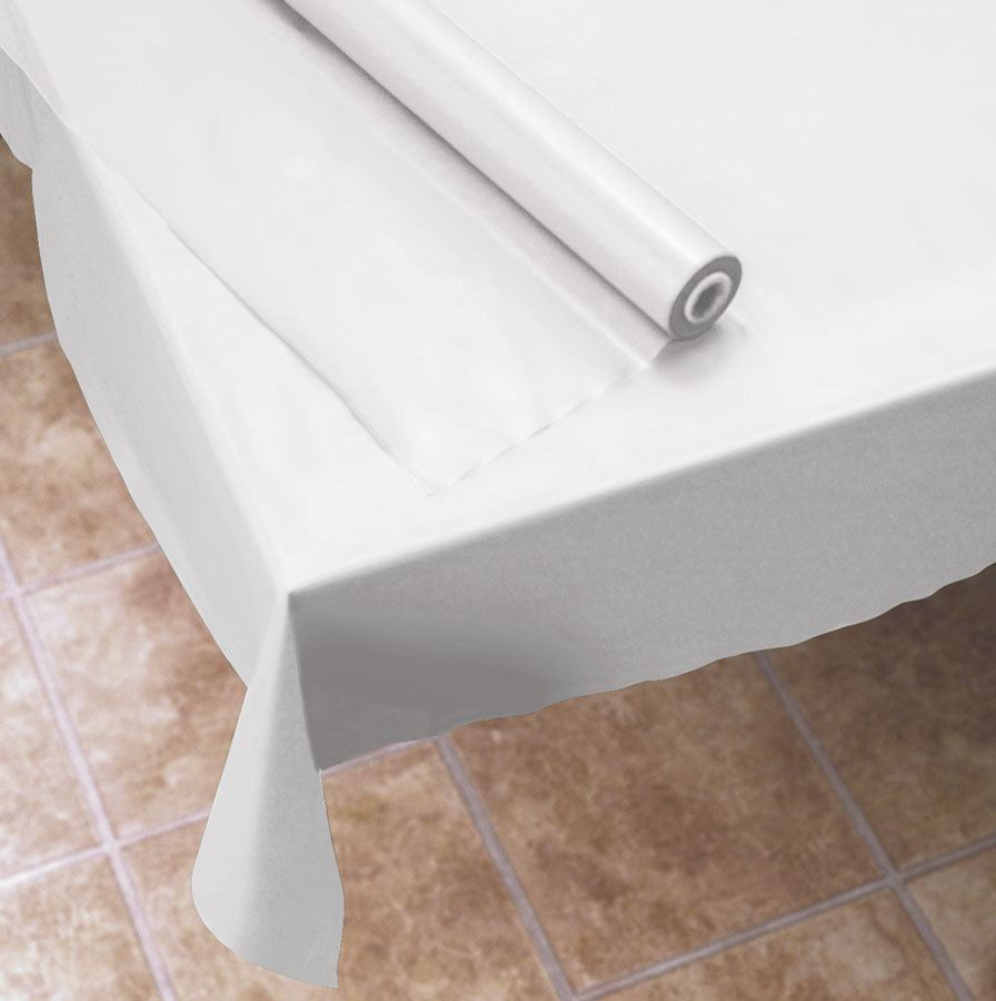 where to buy plastic table cover rolls