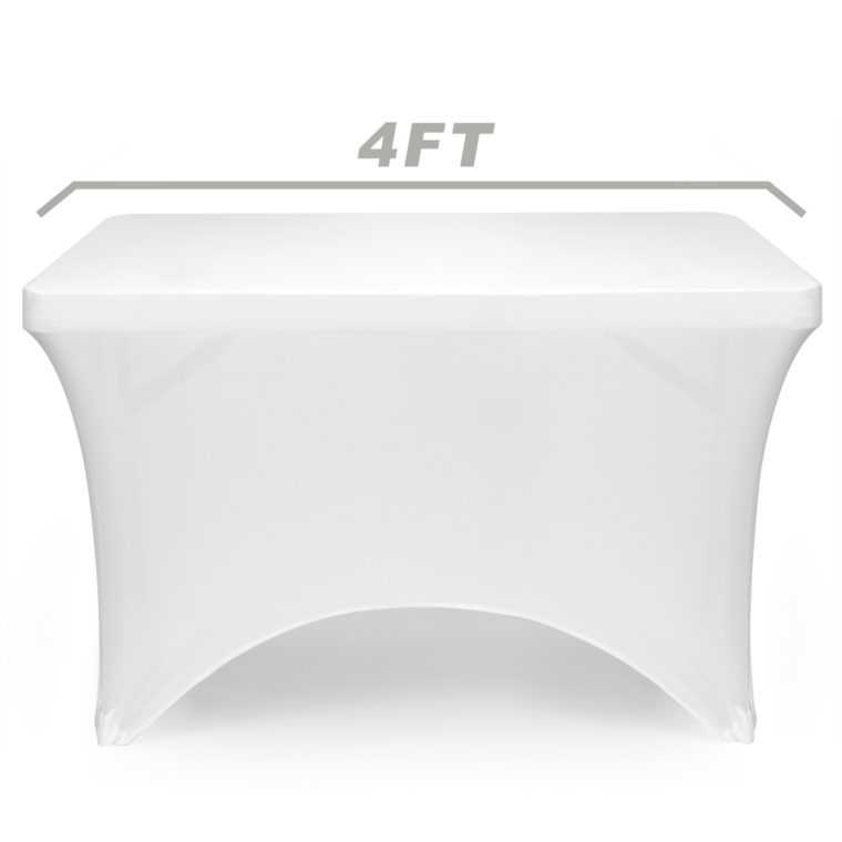 white elastic fitted rectangle tablecloths vinyl