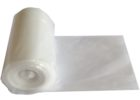 white plastic table cover rolls