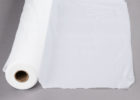 white plastic table cover rolls banquet