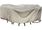 white round 48inch patio table cover with umbrella hole