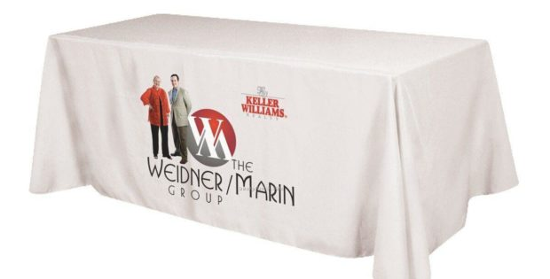 Tradeshow Table Covers with Logo