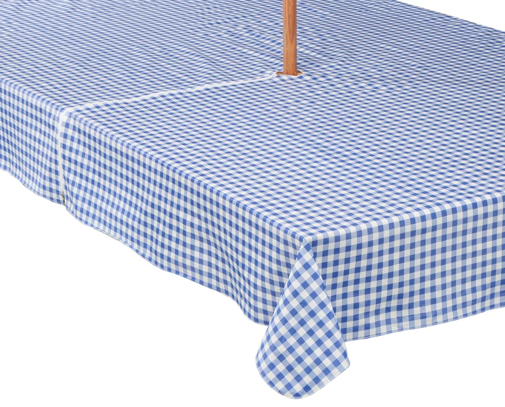 zippered tablecloths umbrella
