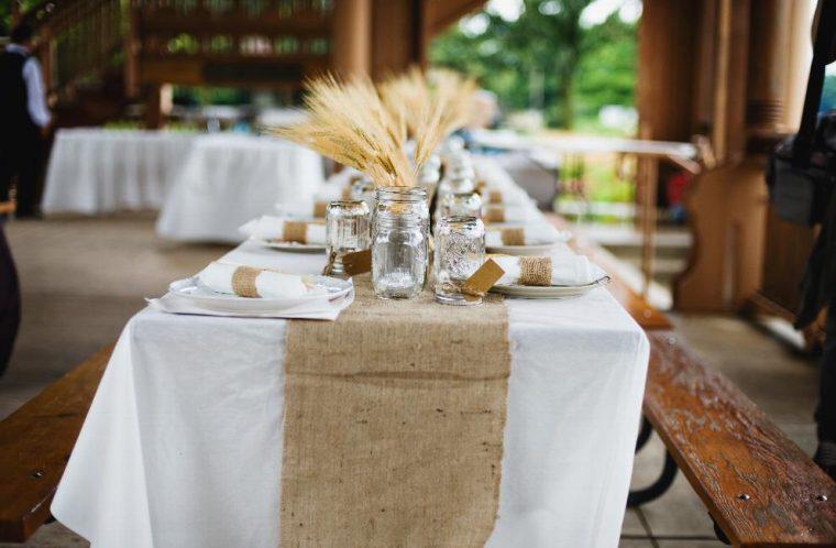 beautiful cloth like table covers