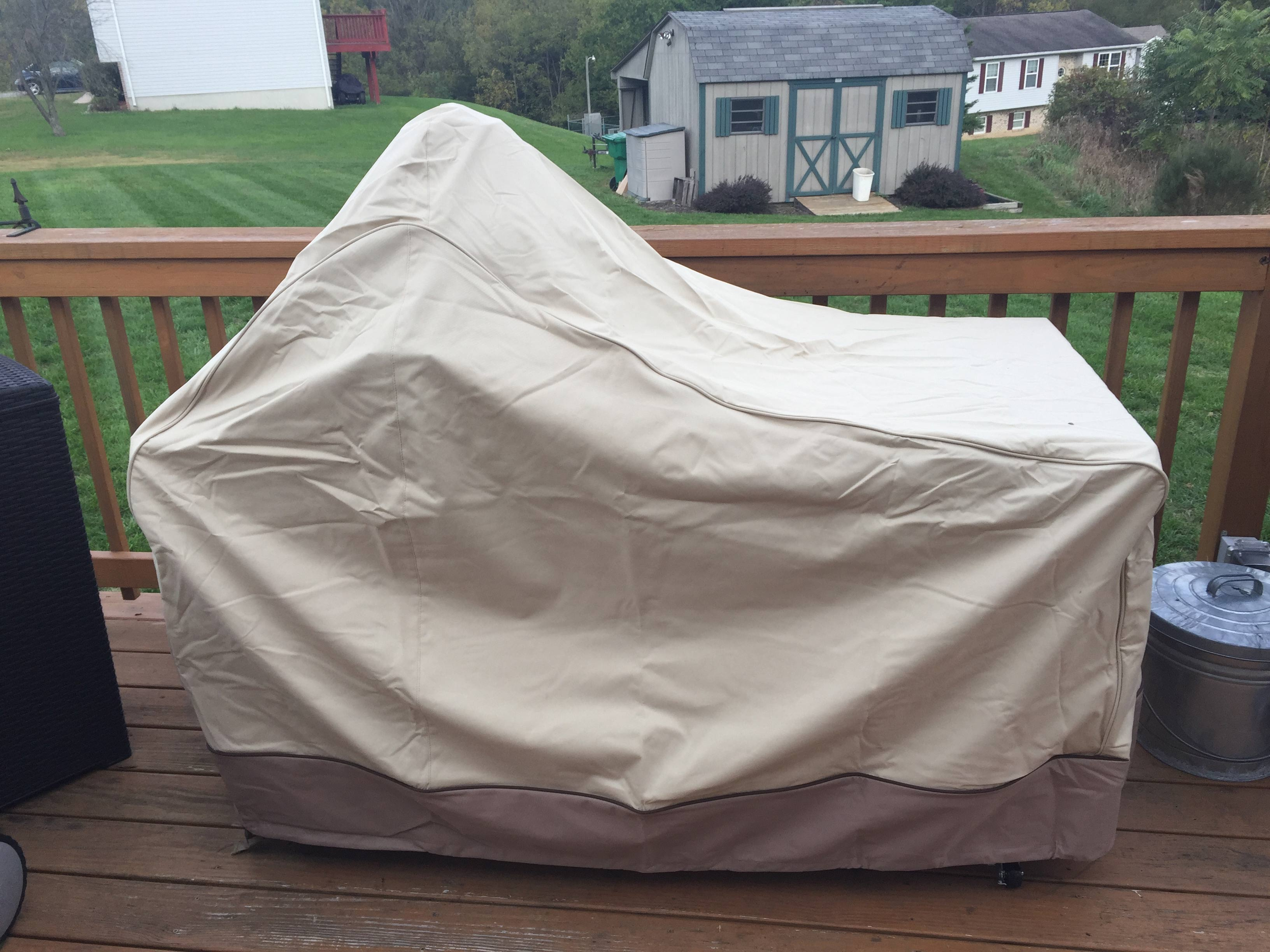 Charmant Big Green Egg Table Cover Dimension