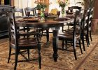 black dining table cover pad