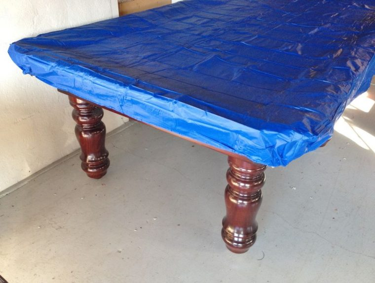 blue custom plastic fitted table covers disposable