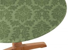 elasticized table covers round