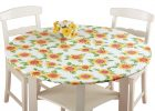 heavy duty elasticized table covers round