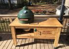 large green egg table cover