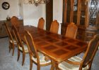 long wooden dining table cover pad