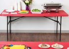 red plastic fitted table covers disposable