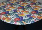 round fitted vinyl table covers elastic