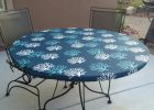 round fitted vinyl table covers with elastic
