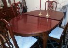 solid round dining table cover pad