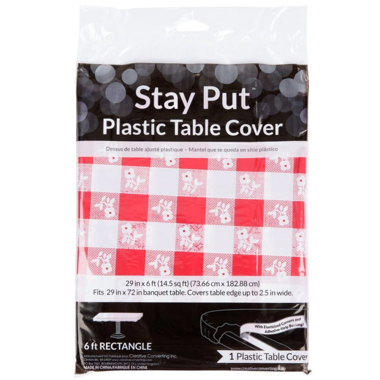 stay put table covers party