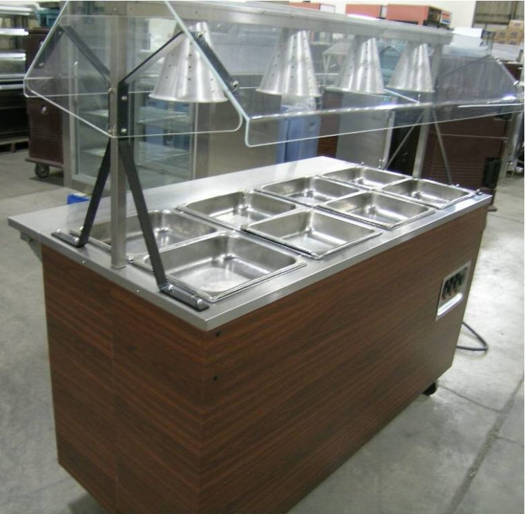 steam table glass cover ideas