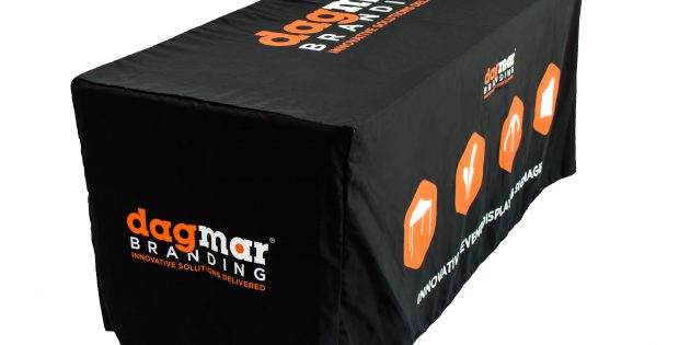 Table Cover with Company Logo Printed